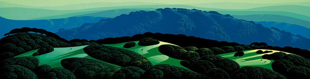 Three Fields and a Mountain, 1989.jpg