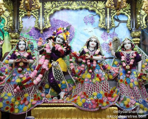 Sri Sri Radha-Gopinath  Lalita Vishakha