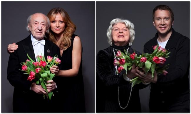В2008 году актеры совместно учредили благотворительный фонд «Артист», призванный помогать пожилым д