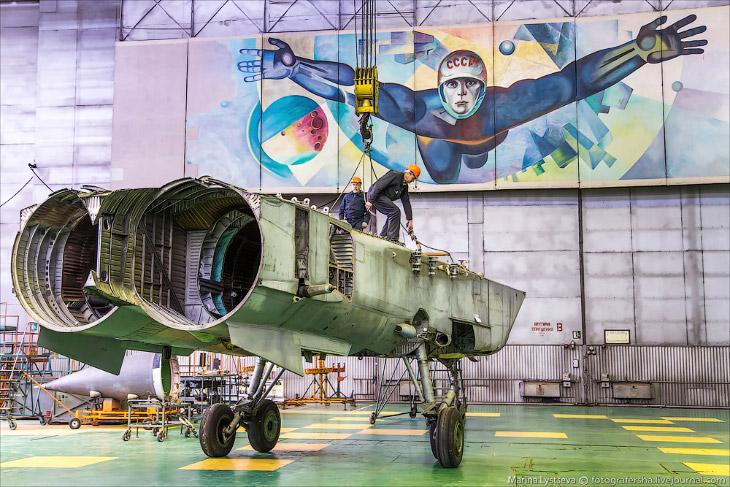 МиГ-31 в Нижнем Новгороде (19 фото)