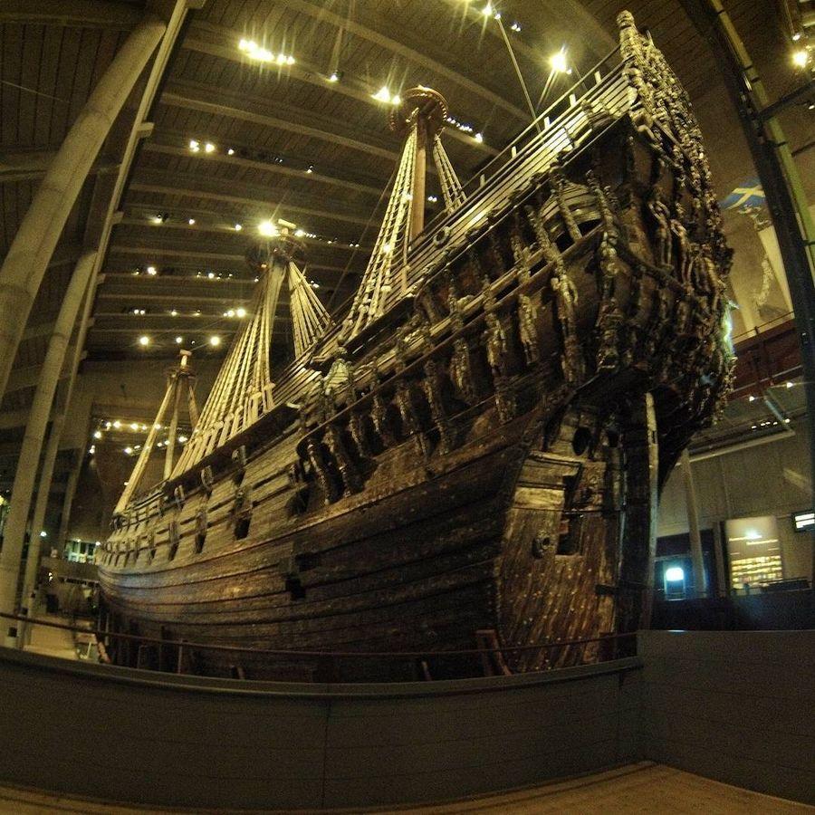 17. Музей Ваза (Стокгольм, Швеция) Самый посещаемый музей Скандинавии был построен вокруг корабля «В
