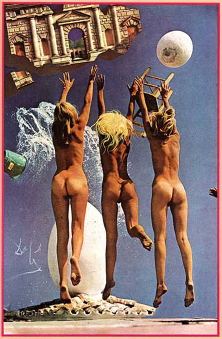 Рано открыв для себя психоаналитические принципы Фрейда, а также метафизическую живопись Джорджо де