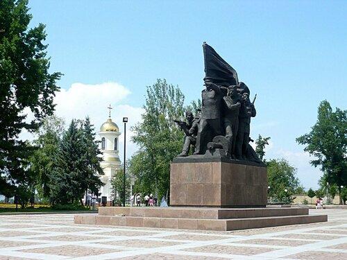 Николаев. Памятник 68 Ольшанцам