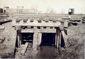 Вид мостика, построенного вблизи станции.