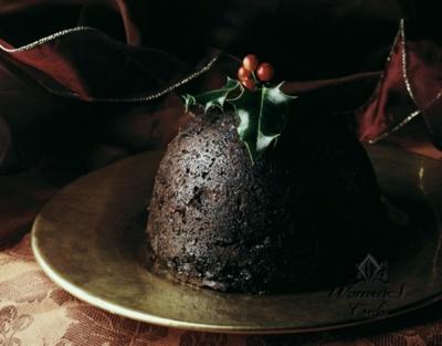 Пудинг из чернослива