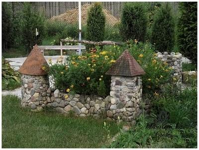 Альпийские горки и каменные сады