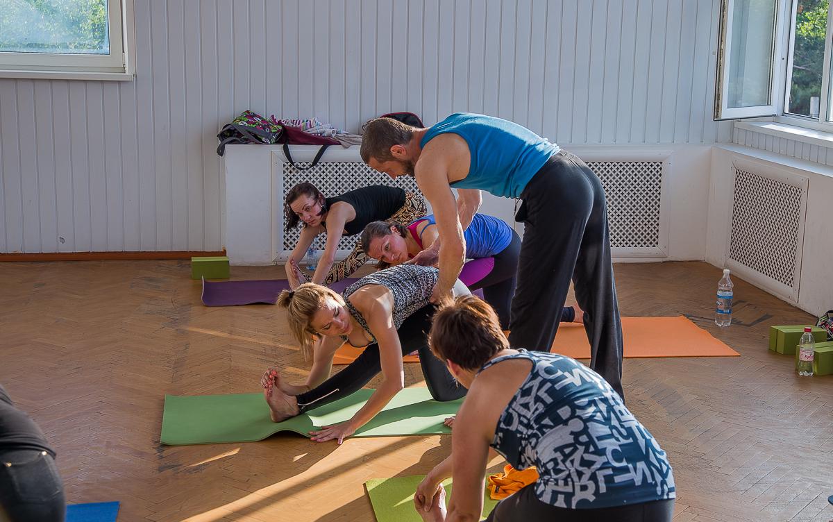 Йога в Анапе фото Сергей Кулыгин