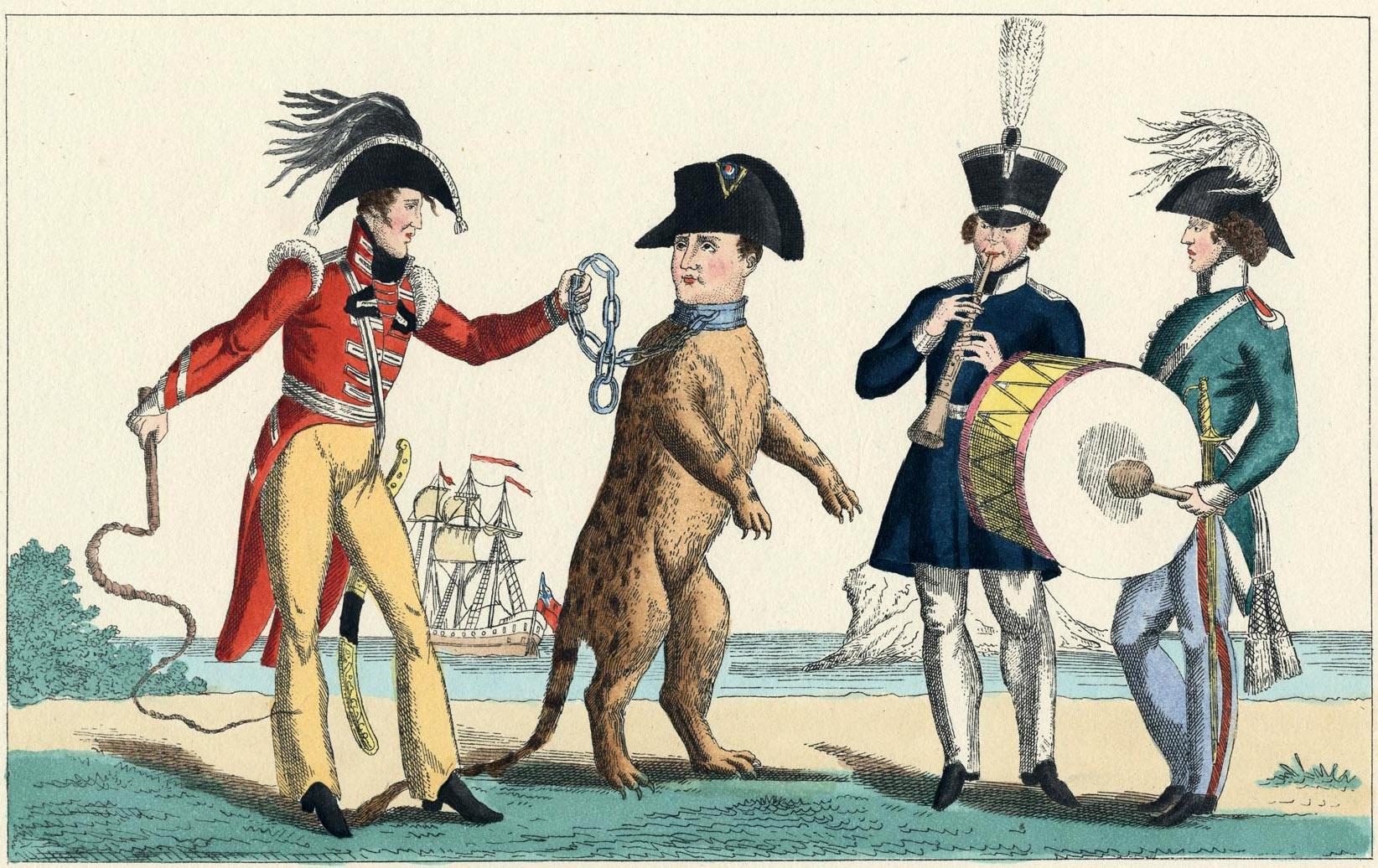 160. Наполеон на цепи