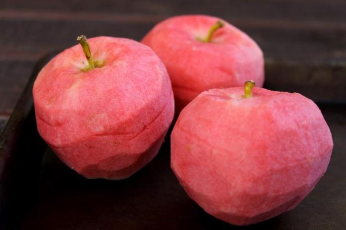 Сорт яблок розовый жемчуг