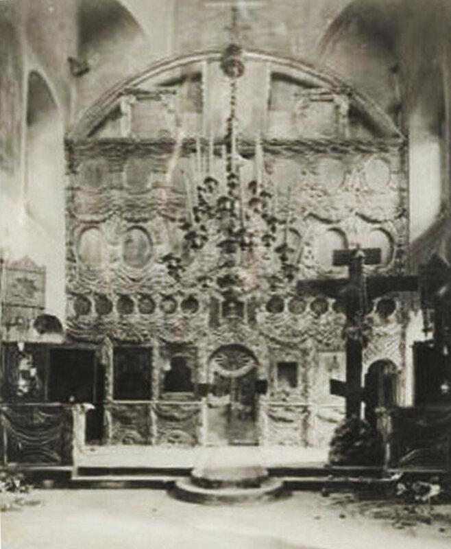 Иконостас церкви Троицы в Хохлах