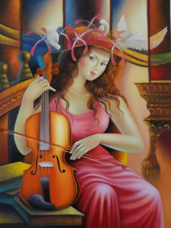 Sergio Martinez_paintings_Honduras _artodyssey