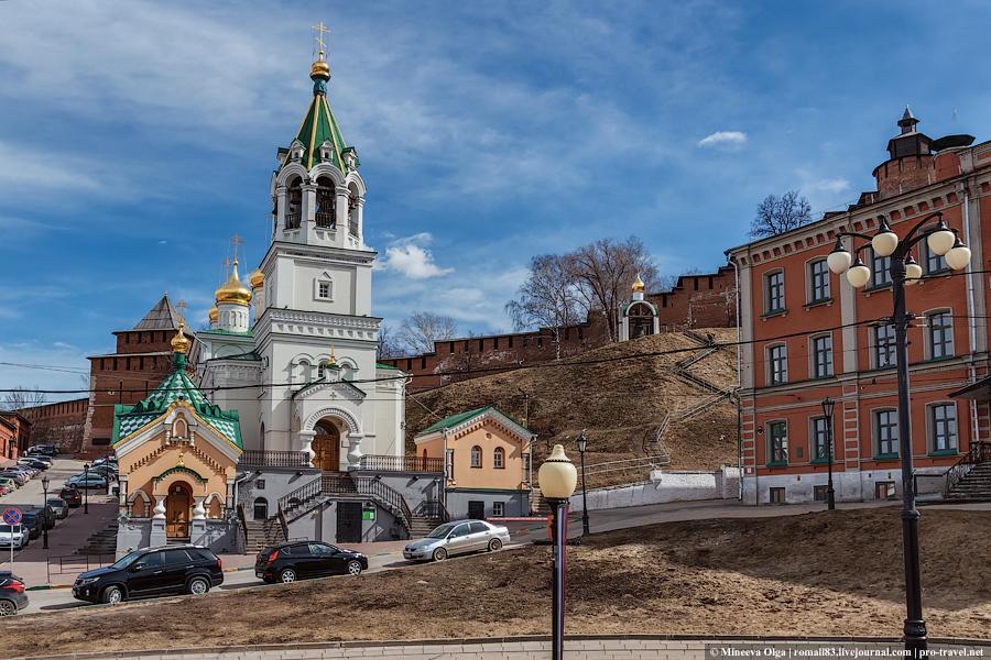 Церкви Нижнего Новгорода
