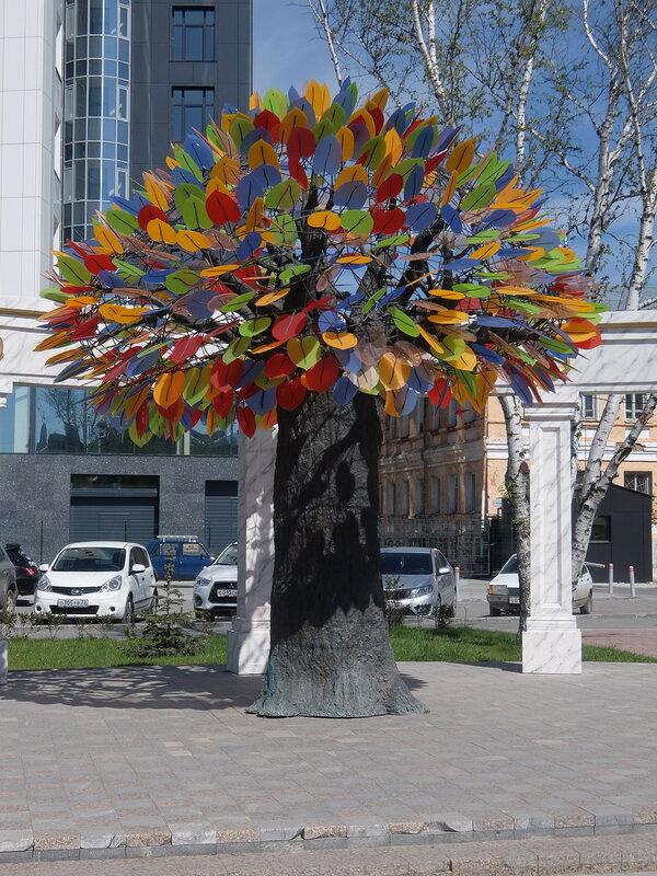 Тюмень - Дерево счастья