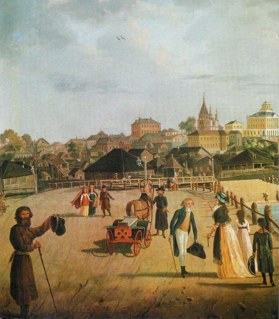 455508 Вид Яузского моста (фрагмент) Гравюра по рисунку Ж. Делабарта. 96-97.jpg