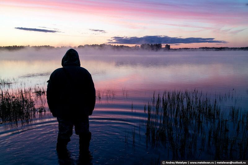 В поисках лучшего места для рыбалки