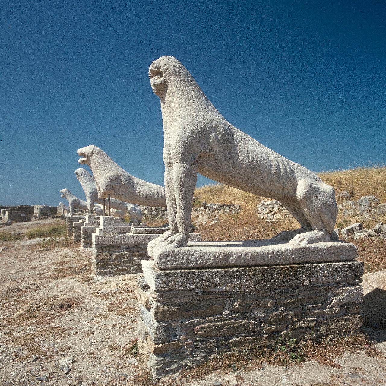 Делос. Львы Священного Пути