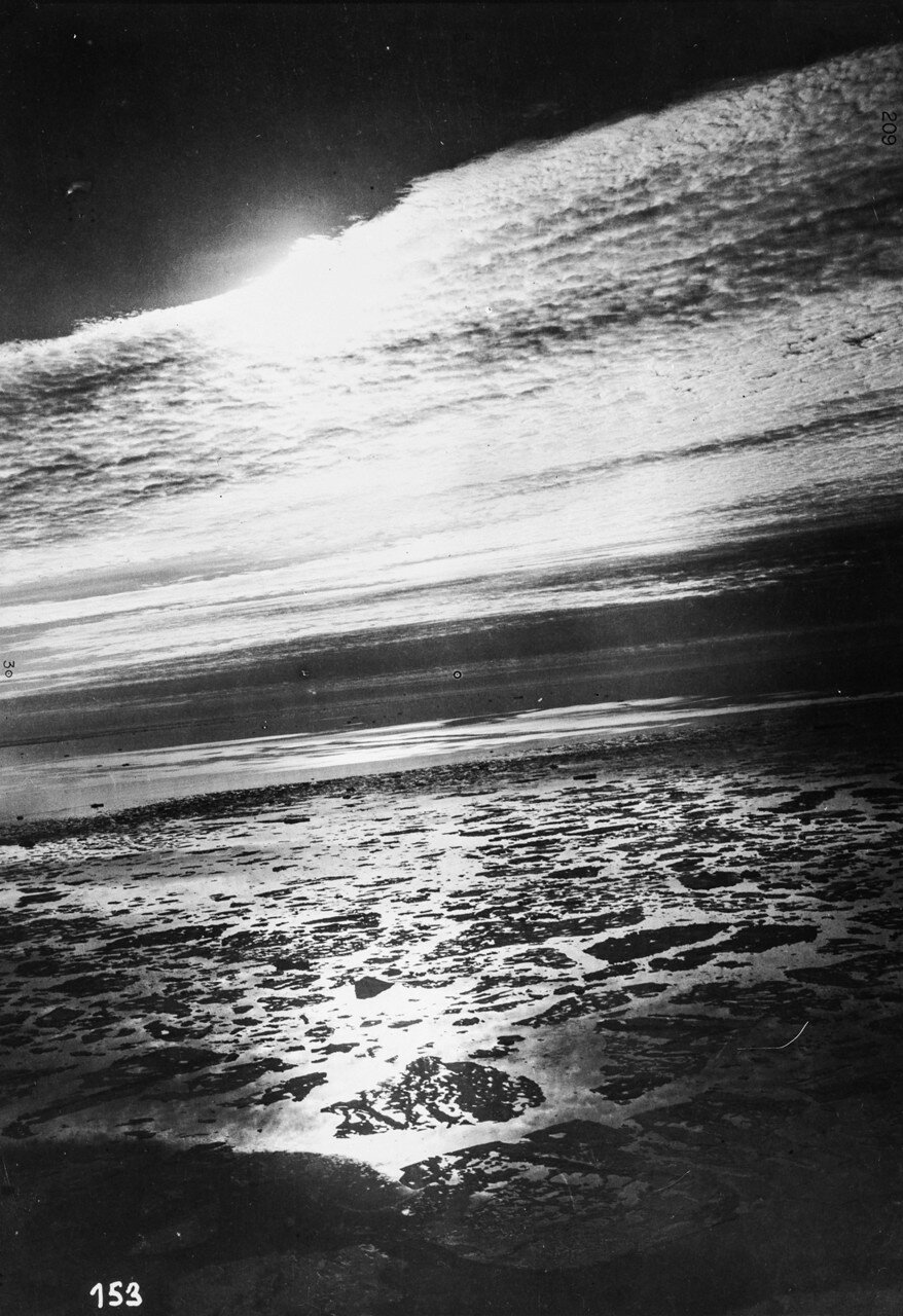 1931. Полет над Баренцевым морем в районе Земли Франца-Иосифа