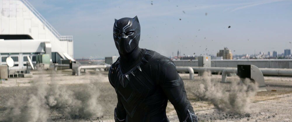 Marvel's Captain America: Civil WarBlack Panther/T'Challa (Chadwick Boseman)Photo Credit: Film Frame© Marvel 2016