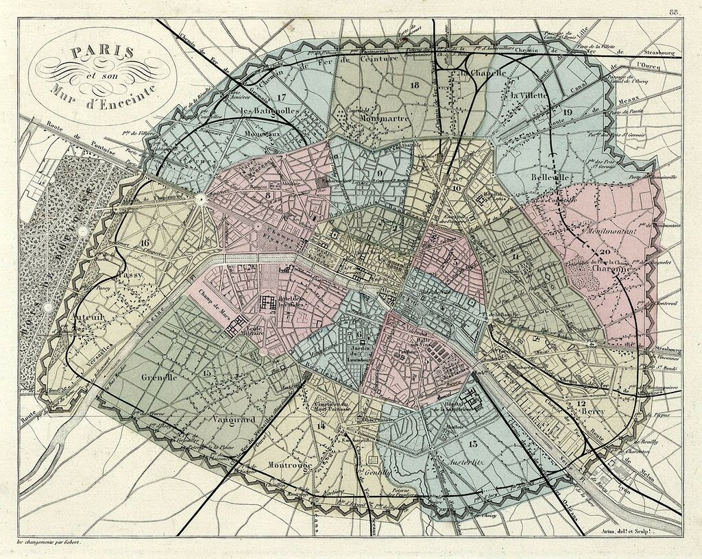 Vuillemin_and_Migeon,_Paris_et_son_mur_d'enceinte,_1869_-_David_Rumsey.jpg