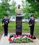 Открытие памятника милиционеру в Волгограде