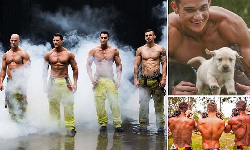 Firefighter's Calendar Australia