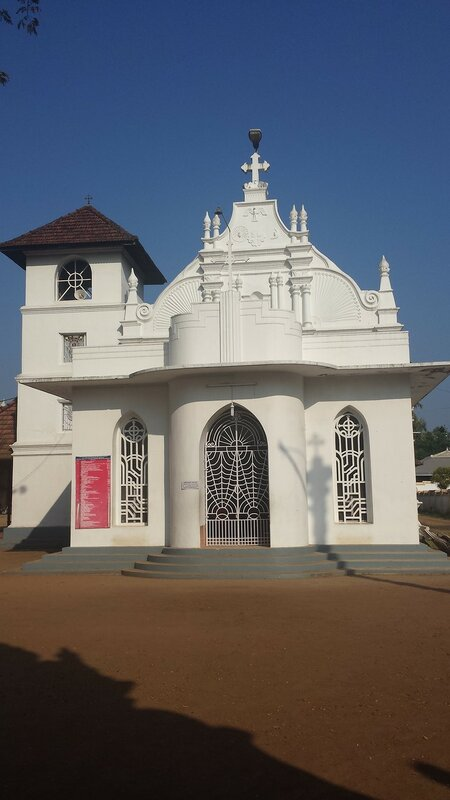 Paravur St. Thomas Jacobite Syrian Church which houses the tomb of Mar Gregorios Abdul Jaleel, the first Antiochian bishop to reach Malankara.