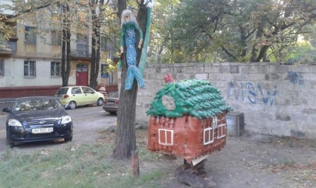 Пушкинский сюжет вбутылочной интерпретации.
