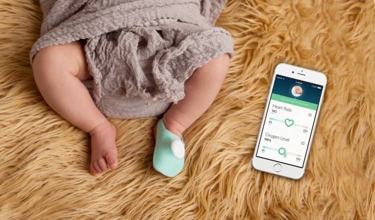 Owlet — это «умный» носочек для маленьких детей, который в реальном времени собирает информацию о са