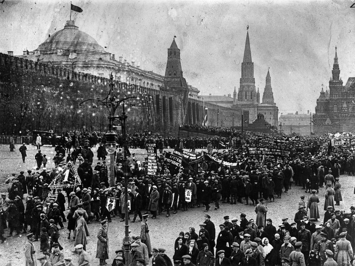 13. 1 мая 1929. Москва