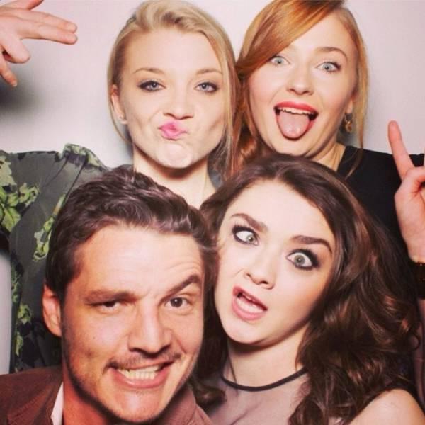 Актеры сериала «Игра престолов» за пределами съемок