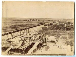 Общий вид станции Курган