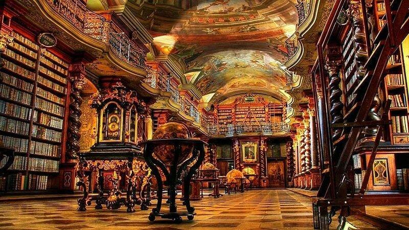 Национальная библиотека Чешской Республики, Прага, Чехия.
