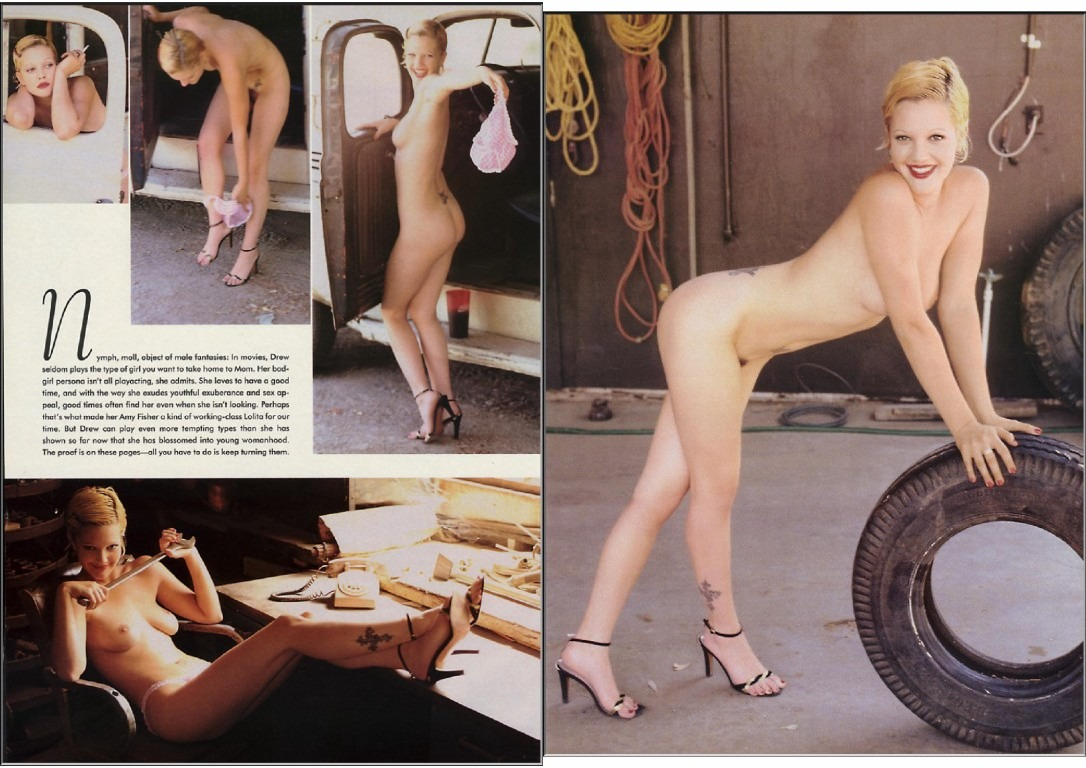 drew barrymore nude playboy pictures