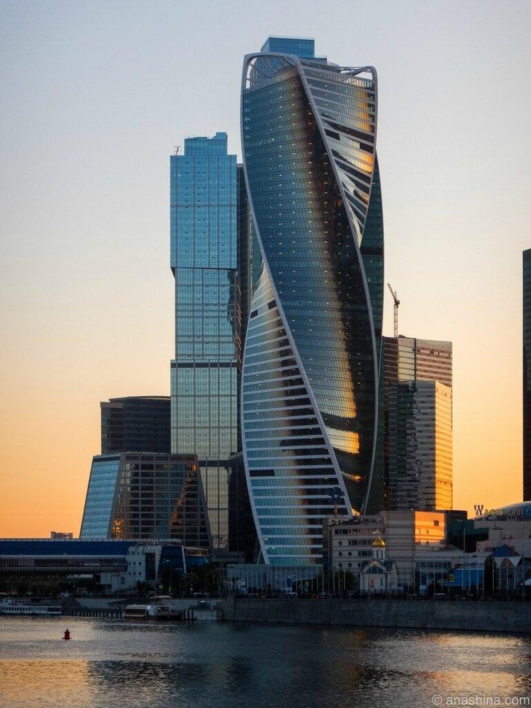 Башни, Москва-Сити