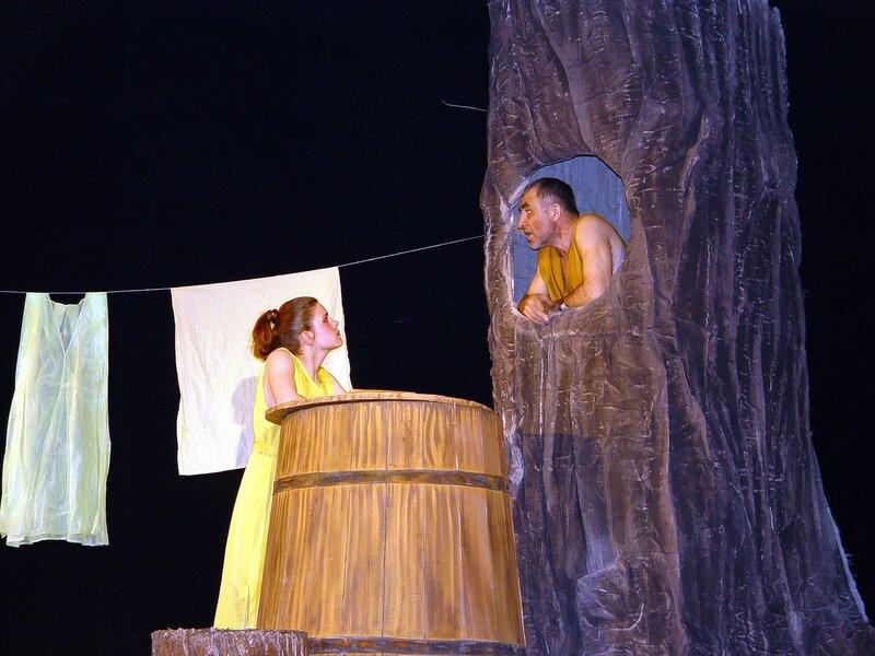 Спектакль о Диогене