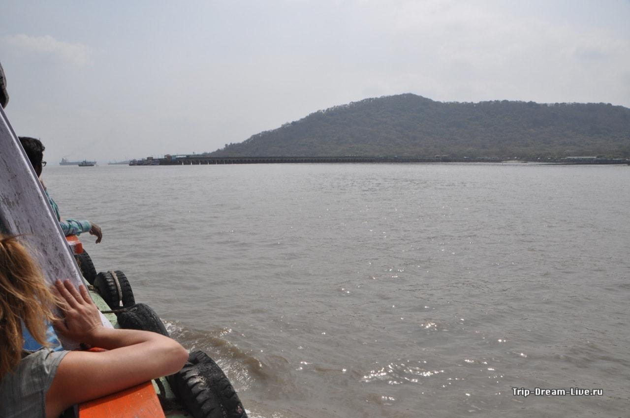 По дороге к острову Элефанта