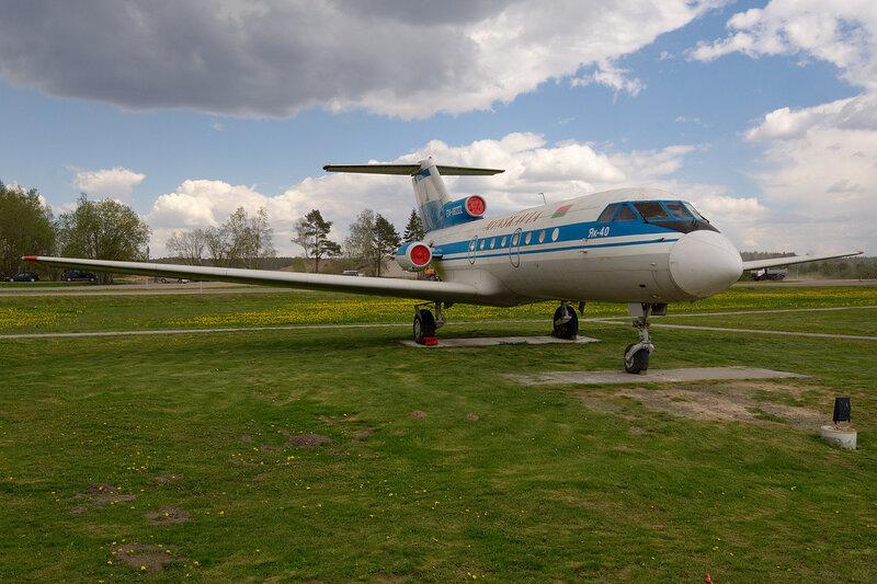 Минскавиа Як-40 EW-88202
