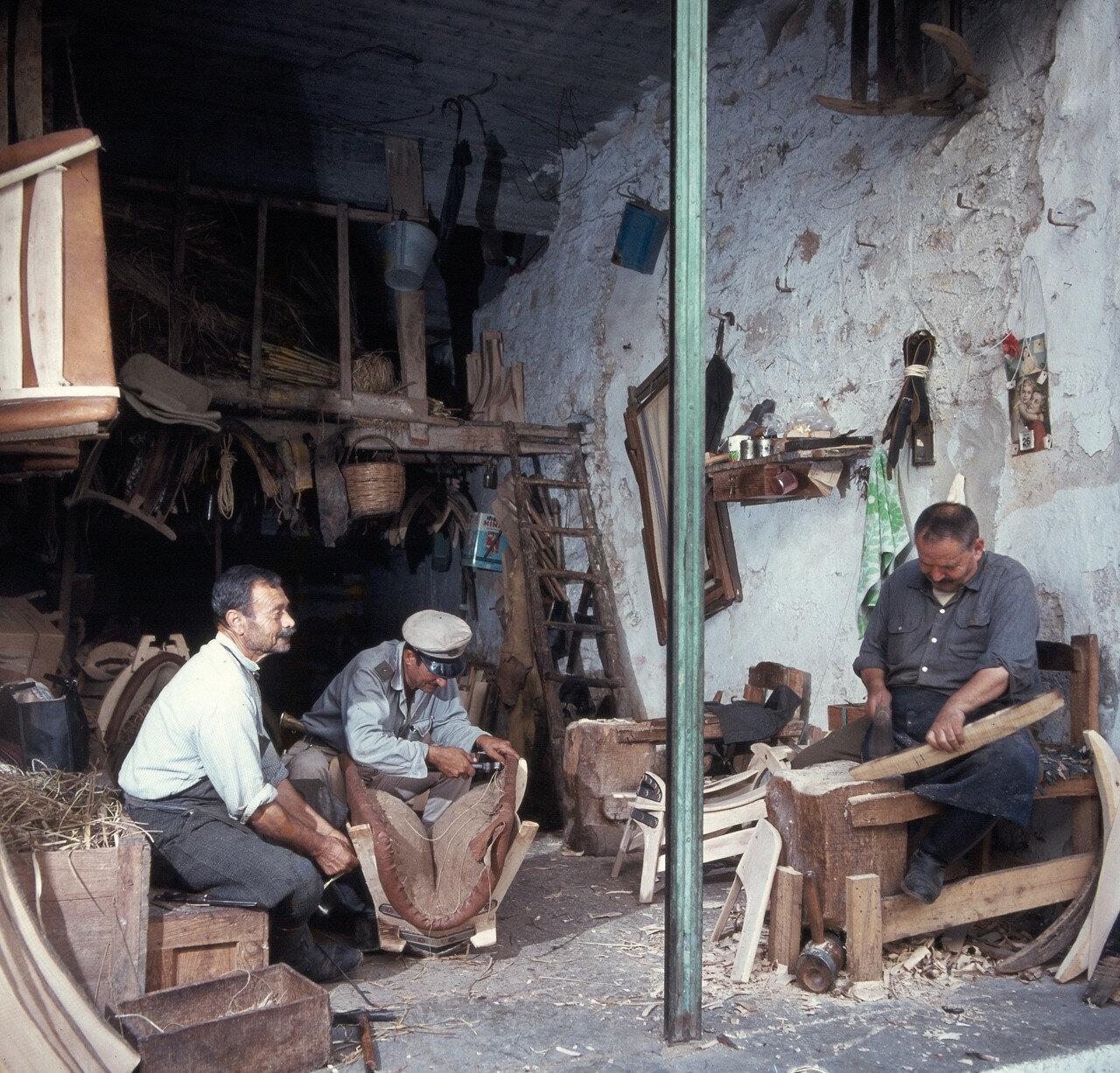 1970. Ретимнон. Старый город . Мастерская седельщика