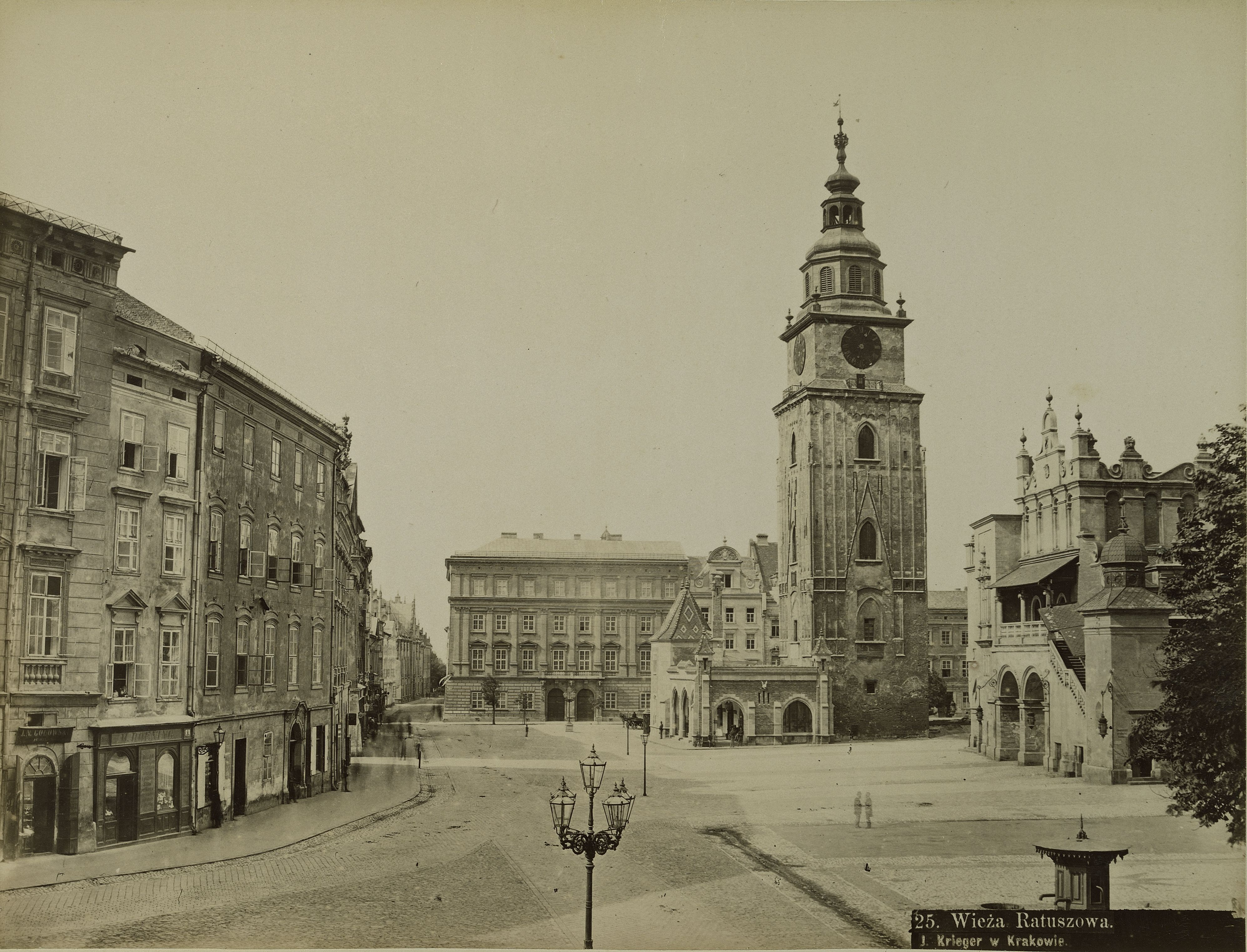 Австро-Венгрия. Краков. Башня Ратуши