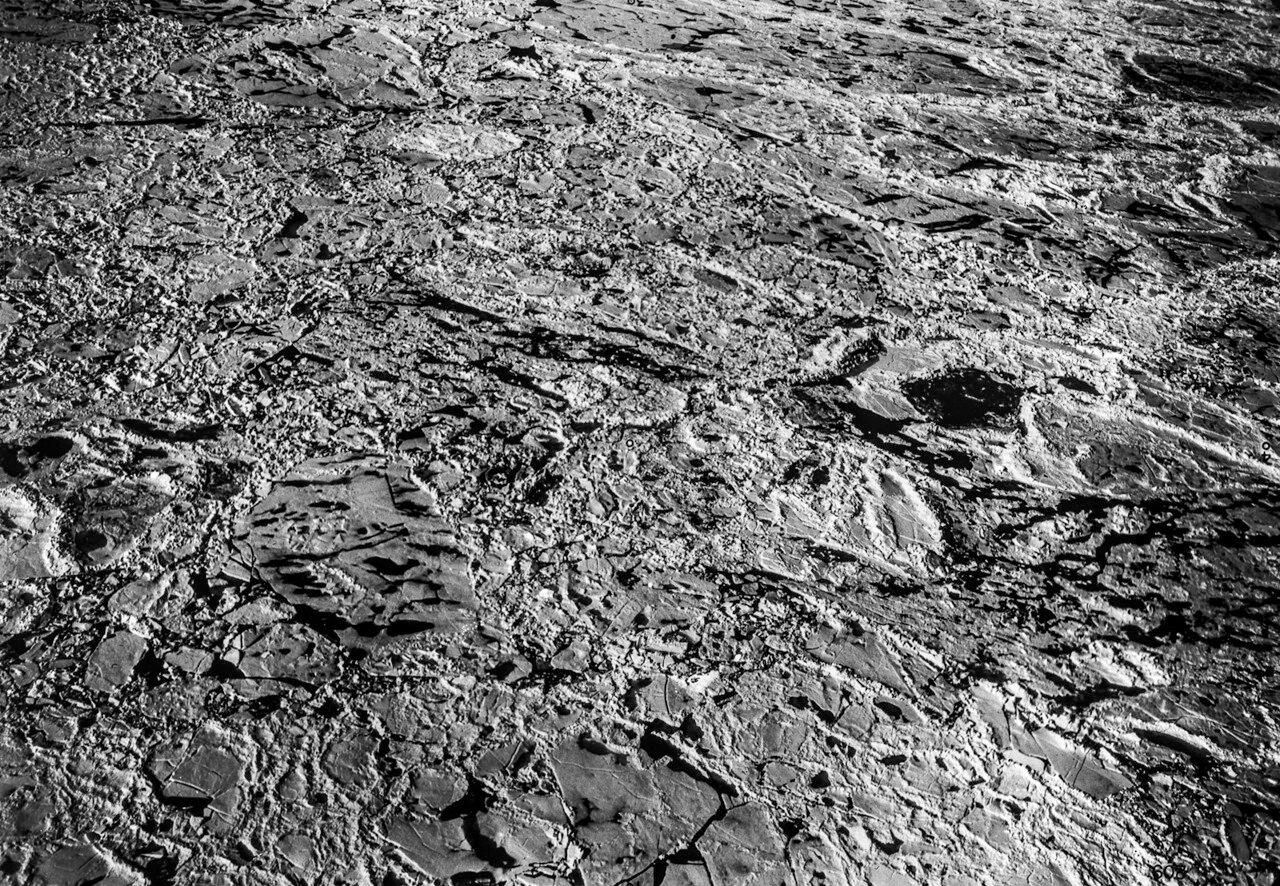 1931. Вид с воздуха на море льда между Землей Франца-Иосифа и Северной Землей