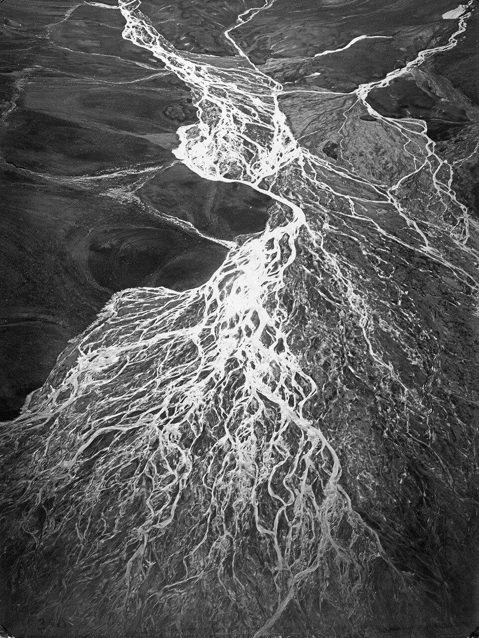 1931. Новая Земля. Дельта реки Шумилица