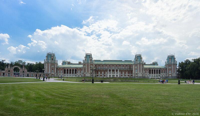 Большой дворец. Царицыно.