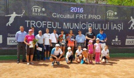 Теннисный «Кубок муниципия Яссы» среди женщин едет в Молдову