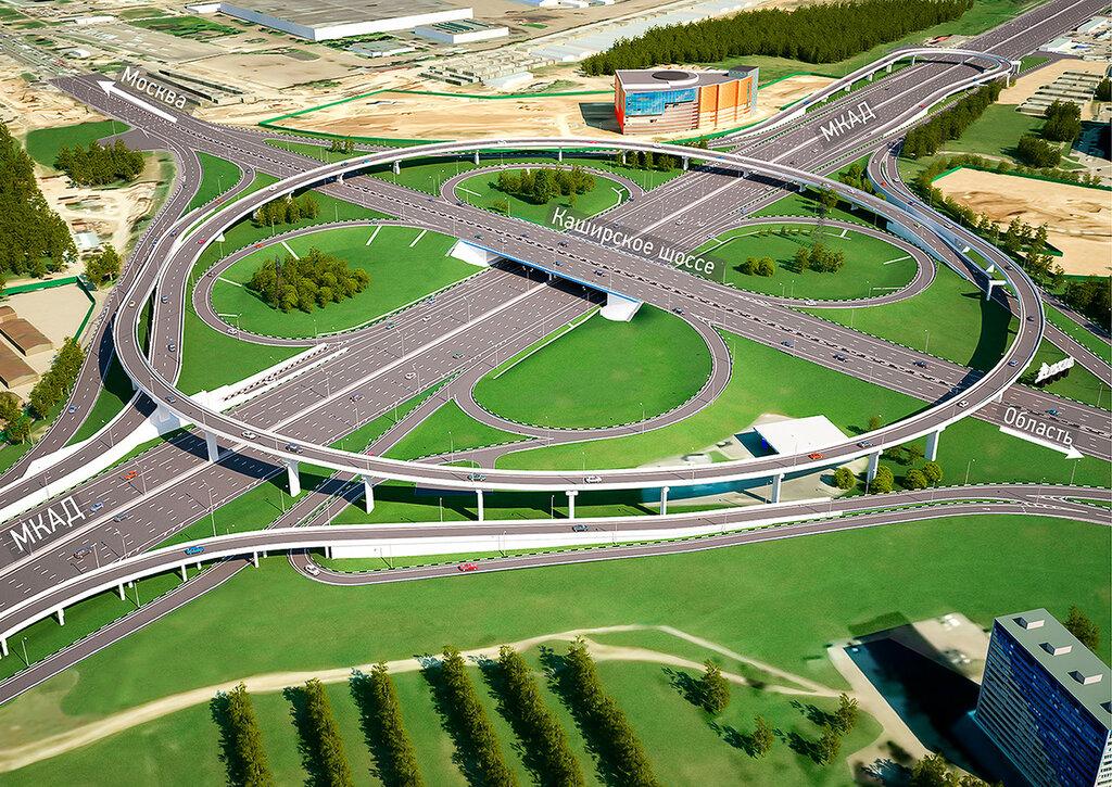 Проект развязки МКАД —Каширское шоссе