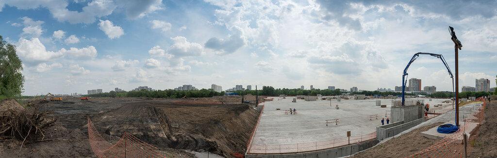 Панорама будущего парка