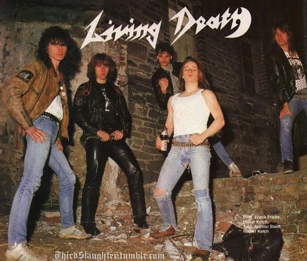 Living Death - Discography (1984-2012)
