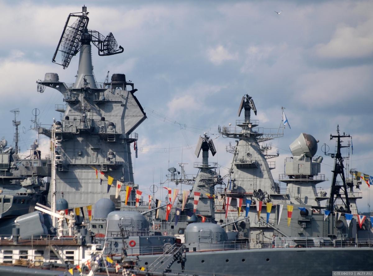 Ориентация «Север»: День ВМФ в Североморске.