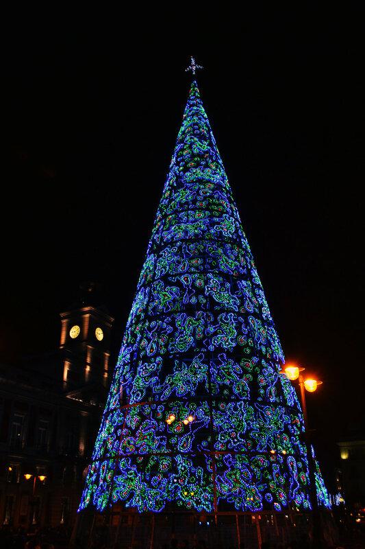 Мадрид. Рождественское настроение
