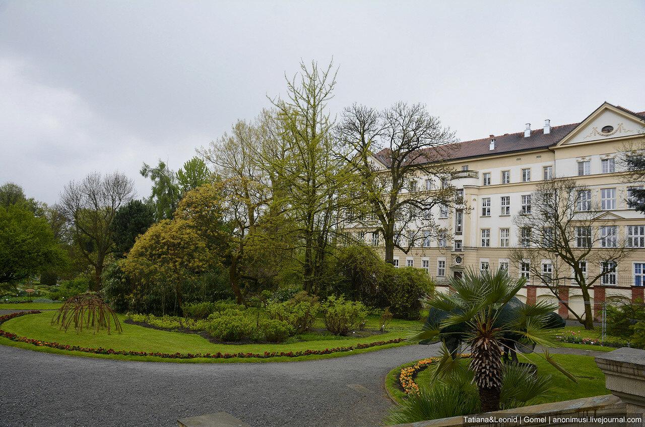Ботанический сад Ягеллонского университета. Краков