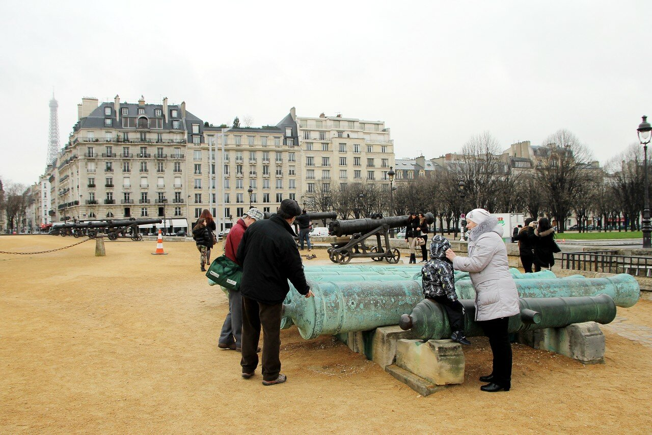 Paris in January